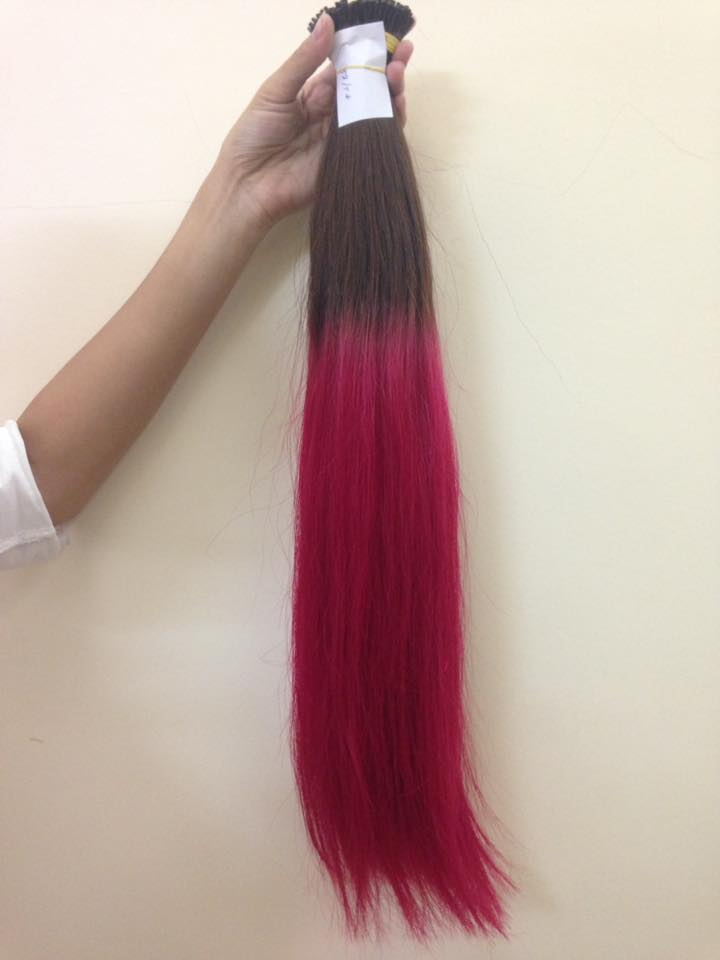 Ombre Color I Tip Hair Extensions